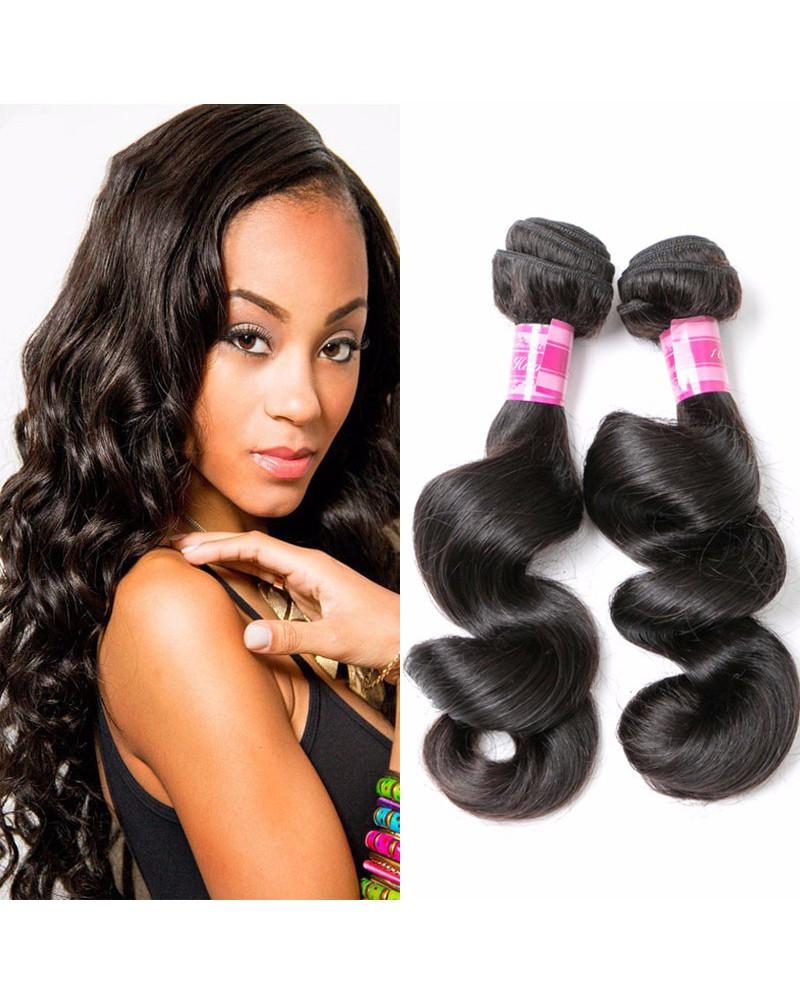 8a Premium Hair Weave Malaysian Hair Loose Wave 100 Human Hair