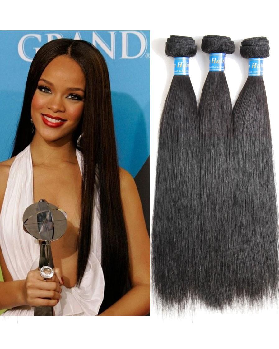 8a Premium Hair Weave Indian Hair Straight 100 Human Hair Weave