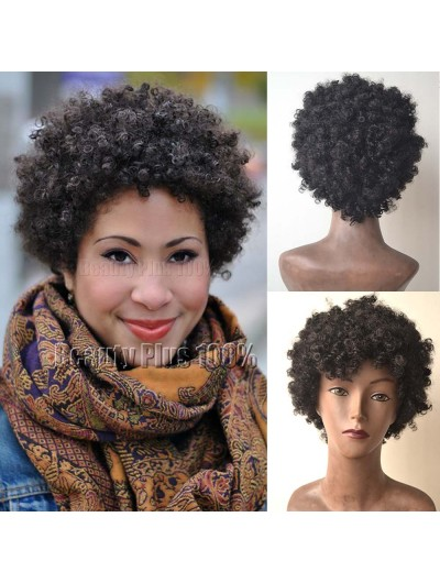 Kinky Curly Synthetic Wigs