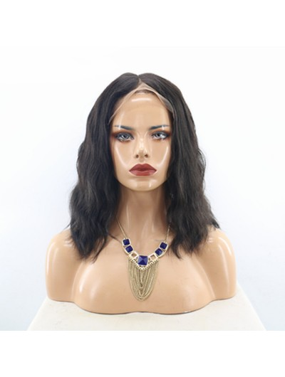 Natural Wave Brazilian Lace Front Wigs for Black Women