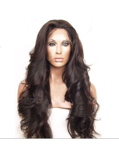 Lace Front Human Hair Wigs Bouncy Wave