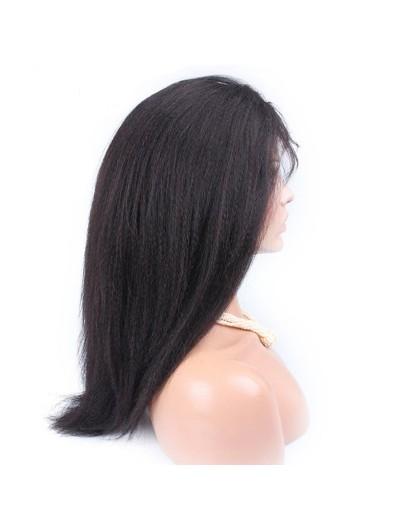 Yaki African American Full Lace Human Hair Wigs For Black Women
