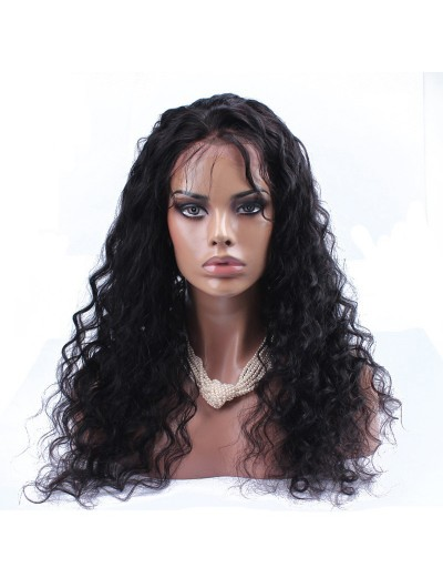 Human Hair Wigs For Black Women Loose Curly Lace Front Brazilian Virgin Hair