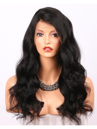 Lace Front Human Hair Wigs For Black Women Body Wave Brazilian Remy Hair 360 Wigs Pre Plucked