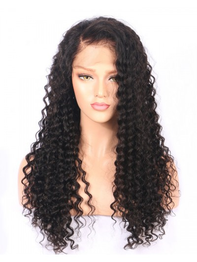 Lace Front Human Hair Wigs Pre Plucked With Baby Hair Water Wave Brazilian Remy Hair Wigs For Black Women