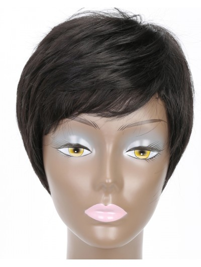 8Inchs Wigs for Black Women Synthetic Wigs High Temperature Fiber