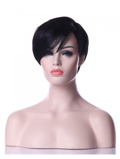 Synthetic Natrural High Temperature Fiber Woman Hair Wig