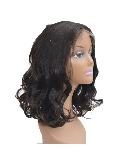 Body Wave Short Wigs For Black Women 150% Density Natural Color Wigs