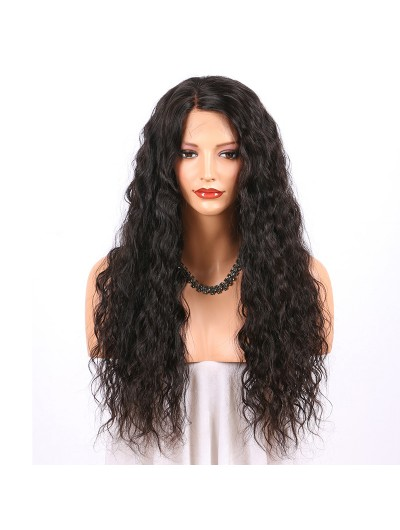 Water Wave Lace Front Human Hair Wigs For Women 150% Density