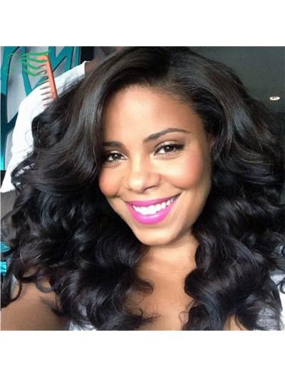 Women Pretty Body Wave Full Lace Human Hair Wigs