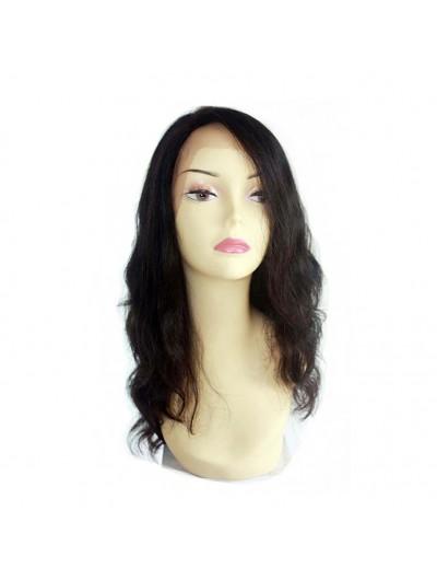 Natural Wave 100% Human Hair Wigs Brazilian Virgin Hair Lace Front Wigs Density 130%