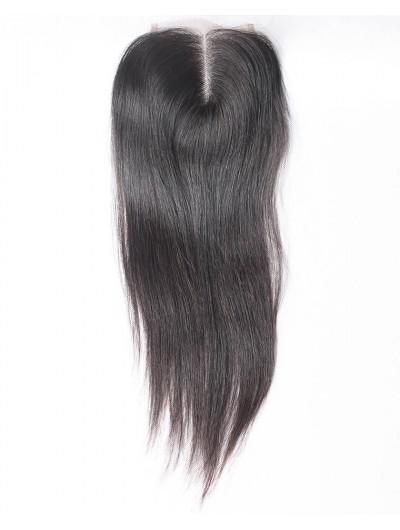 7A 4 x 4 Lace Closure Peruvian Hair Straight