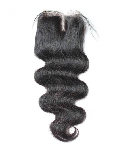 8A Premium 4 x 4 Lace Closure Indian Hair Body Wave