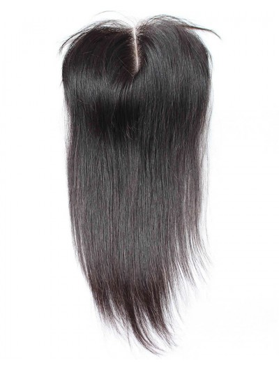 8A Premium 4 x 4 Lace Closure Peruvian Hair Straight