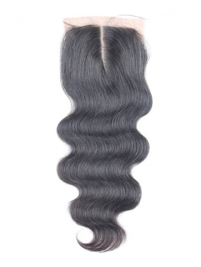 8A Premium 4 x 4 Silk Base Closure Brazilian Hair Body Wave