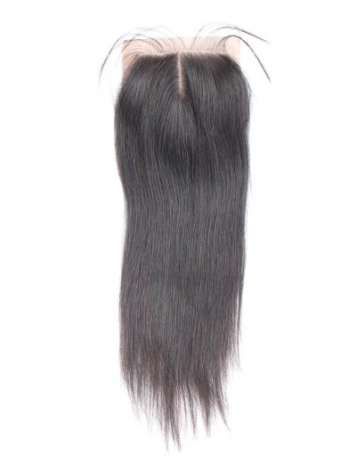 8A Premium 4 x 4 Silk Base Closure Indian Hair Straight