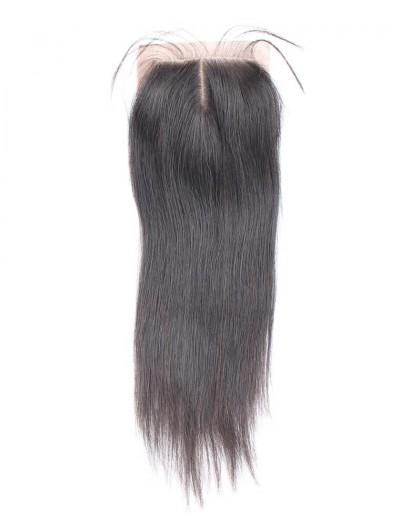 8A Premium 4 x 4 Silk Base Closure Peruvian Hair Straight