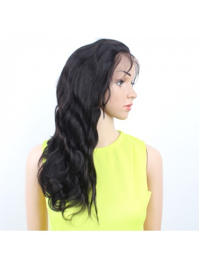 Wavy Full Lace Wig Human Hair Lace Front Wigs For Black Women