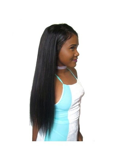 150% Density Full Lace Human Hair Wigs For Black Women Straight