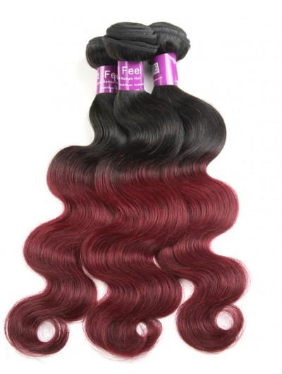 8A Ombre Brazilian Hair Body Wave Brazilian Virgin Ombre Hair