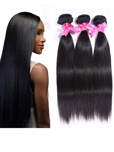 6A Hair Weave Brazilian Hair Straight