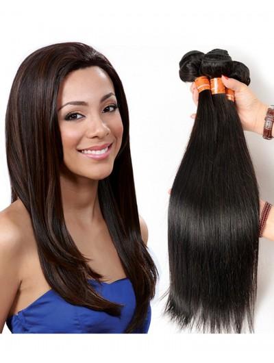 6A Hair Weave Indian Hair Straight
