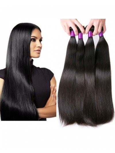 6A Hair Weave Malaysian Hair Straight