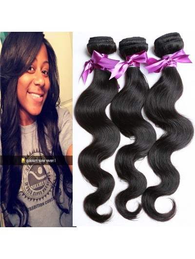 7A Hair Weave Indian Hair Body Wave