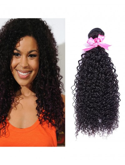 7A Hair Weave Brazilian Hair Curly