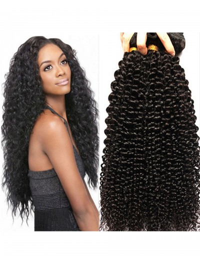7A Hair Weave Indian Hair Curly