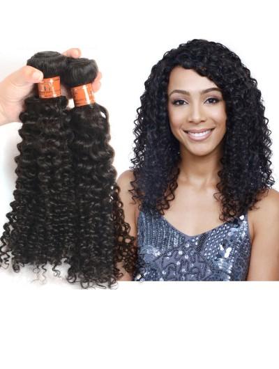 7A Hair Weave Peruvian Hair Curly