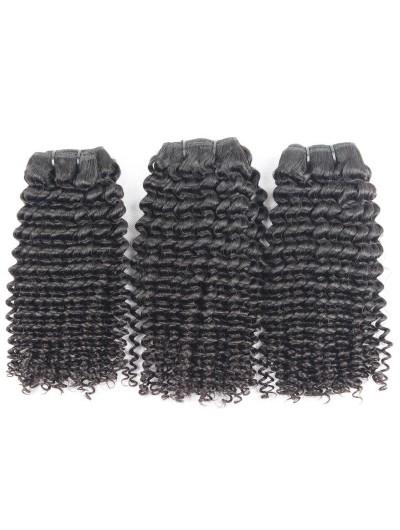 7A Hair Weave Brazilian Hair Kinky Curly