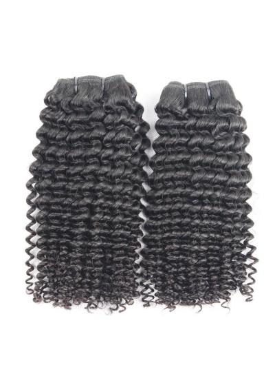 7A Hair Weave Malaysian Hair Kinky Curly