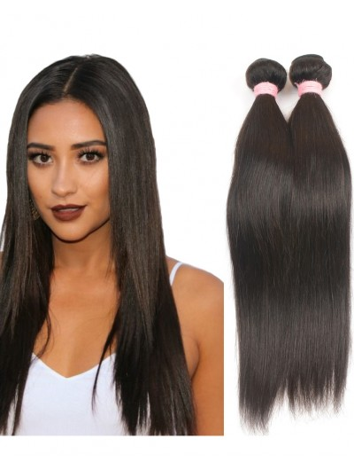 7A Hair Weave Brazilian Hair Straight