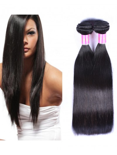 7A Hair Weave Indian Hair Straight