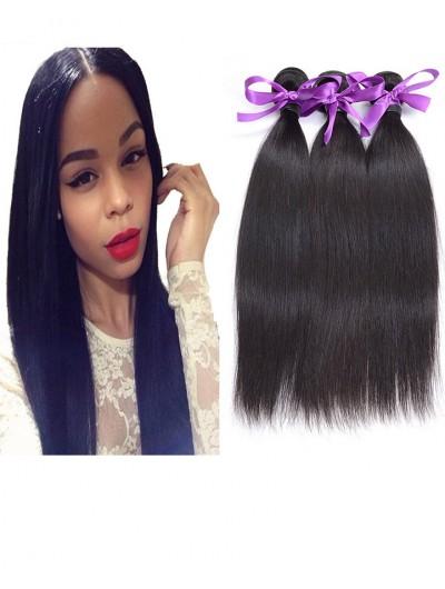 7A Hair Weave Malaysian Hair Straight