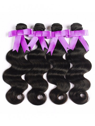 8A Premium Hair Weave Peruvian Hair Body Wave