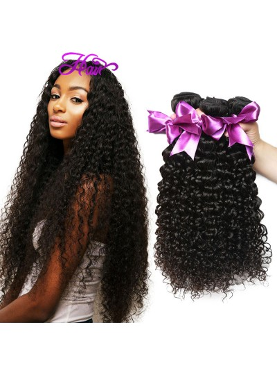 8A Premium Hair Weave Brazilian Hair Curly