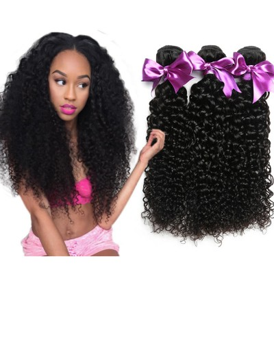 8A Premium Hair Weave Indian Hair Curly