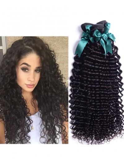 8A Premium Hair Weave Malaysian Hair Curly