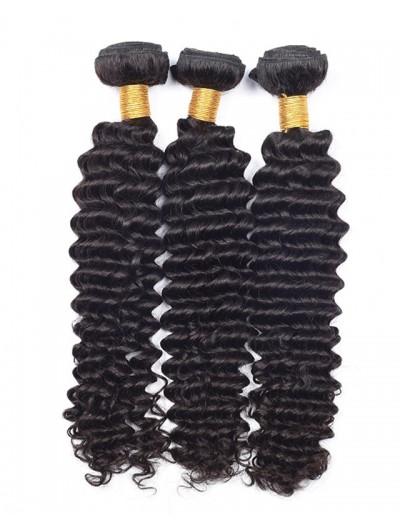 8A Premium Hair Weave Malaysian Hair Deep Wave