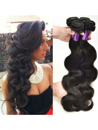 8A Premium Hair Weave Peruvian Hair Loose Body Wave