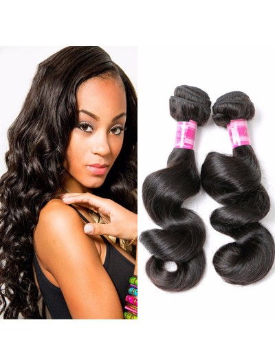 8A Premium Hair Weave Malaysian Hair Loose Wave