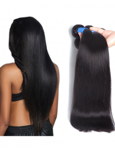 8A Premium Hair Weave Brazilian Hair Straight