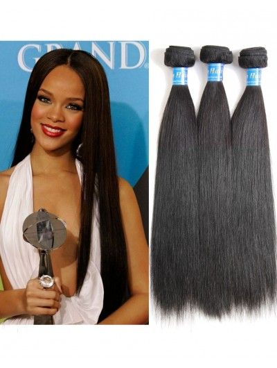 8A Premium Hair Weave Indian Hair Straight