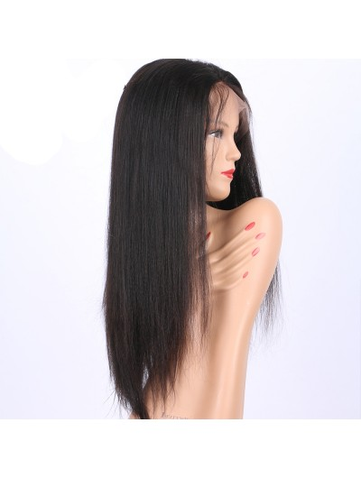 Yaki Human Hair Wigs Full Lace Wigs For Black Women