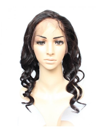 8A Premium 360 Lace Frontal Peruvian Hair Loose Wave