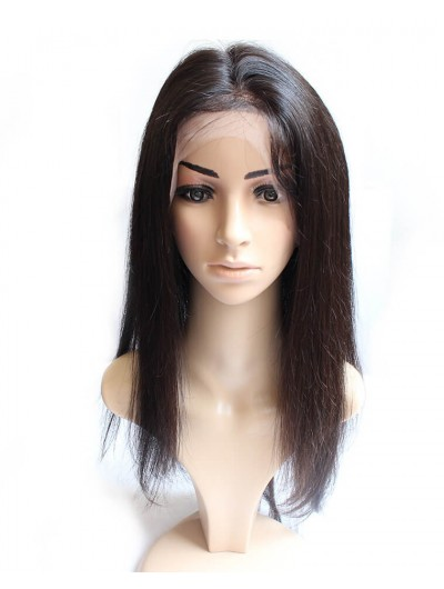 8A Premium 360 Lace Frontal Indian Hair Straight