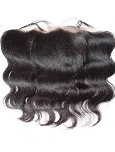 8A Premium 4 x 13 Lace Frontal Indian Hair Body Wave