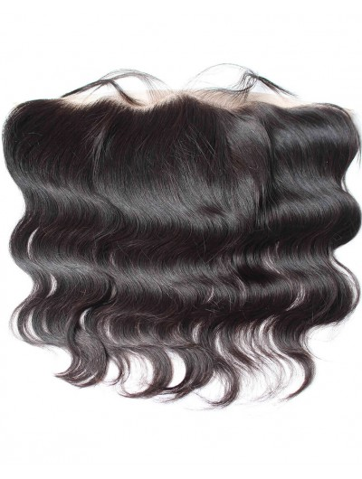 8A Premium 4 x 13 Lace Frontal Peruvian Hair Body Wave